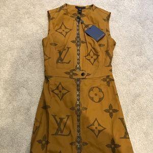NWT Louis Vuitton Cotton Dress Size 36